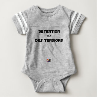 DETENTION, OF the TENSIONS - Word games Baby Bodysuit