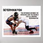 Determination - Wrestling Poster