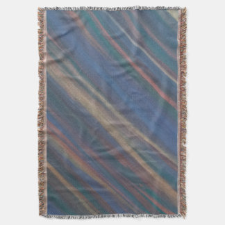 Determined Neutral Warm Earth Fall Tones Throw Blanket