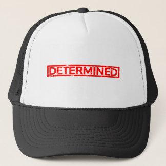 Determined Stamp Trucker Hat