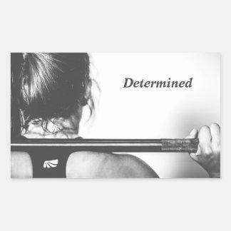 Determined Sticker