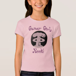 Deth Grip Gaming's Gamer Girls Rock Kids T-Shirt