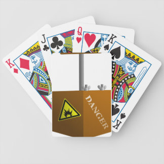 Detonator Box Bicycle Playing Cards