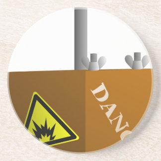 Detonator Box Coaster