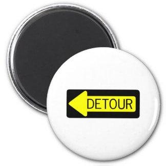 Detour Refrigerator Magnet