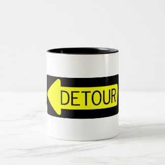 Detour Two-Tone Coffee Mug