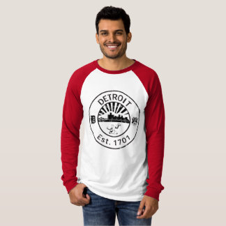 Detroit 1701, Distressed T-Shirt