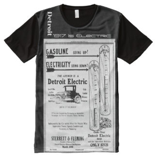 Detroit - 1917 is electric All-Over-Print T-Shirt