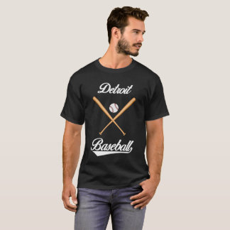 Detroit Baseball T-Shirt for Men and Women