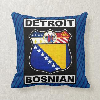Detroit Bosnian American Cushions