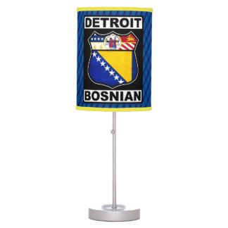 Detroit Bosnian American Lamp