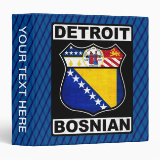 Detroit Bosnian American Ring Binder