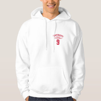 Detroit Builds Hockey Hooded Sweatshirt