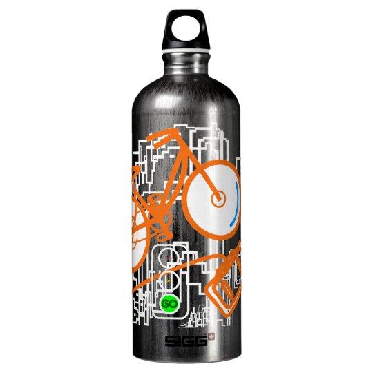 Detroit City Cycle Water Bottle