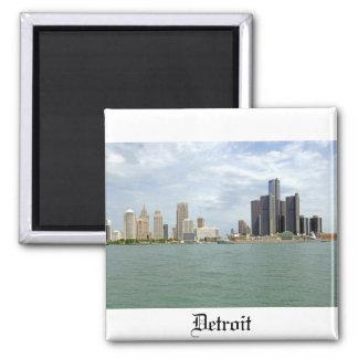 Detroit City Michigan Magnet