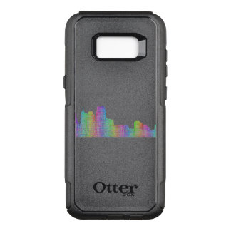 Detroit city skyline OtterBox commuter samsung galaxy s8+ case
