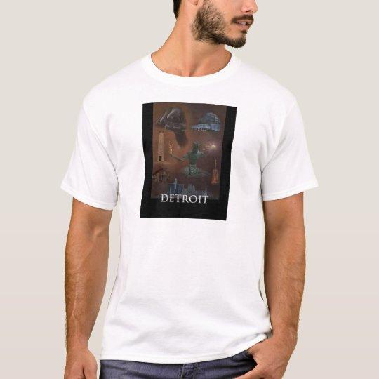 Detroit Collage T-Shirt