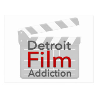 Detroit Film Addiction Postcard