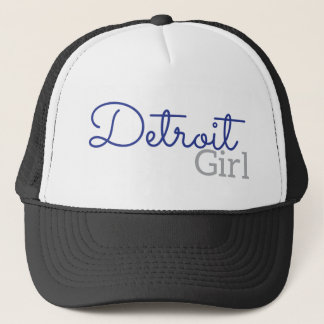 Detroit Girl Trucker Hat