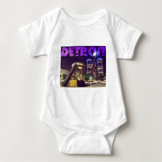 Detroit Hart Plaza Baby Bodysuit