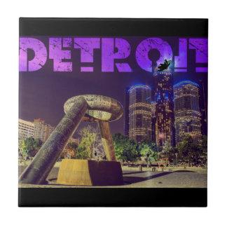 Detroit Hart Plaza Ceramic Tile
