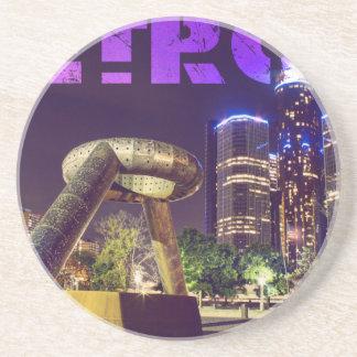 Detroit Hart Plaza Coaster