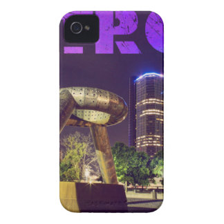 Detroit Hart Plaza iPhone 4 Covers