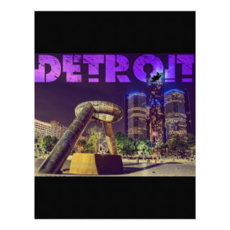Detroit Hart Plaza Letterhead