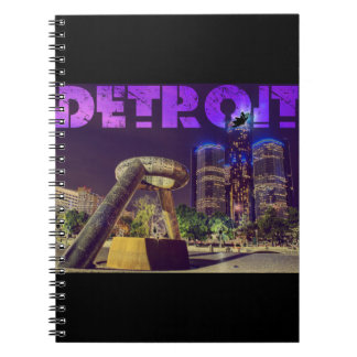 Detroit Hart Plaza Notebook