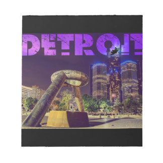 Detroit Hart Plaza Notepad