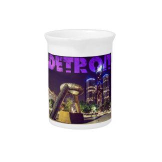 Detroit Hart Plaza Pitcher