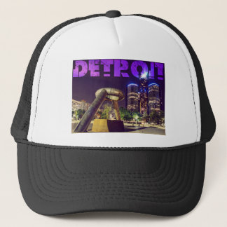 Detroit Hart Plaza Trucker Hat