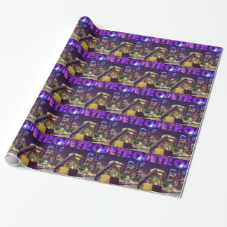Detroit Hart Plaza Wrapping Paper