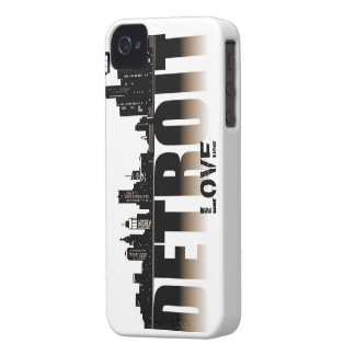 Detroit Love iPhone 4 Cover