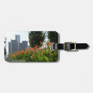 Detroit Luggage tag