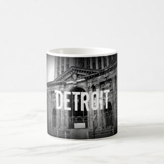 Detroit Michigan Central Station Coffee Mug