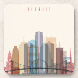 Detroit, Michigan | City Skyline Coaster