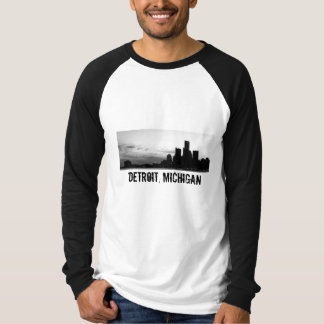 Detroit, Michigan - Customized T-Shirt