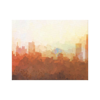 DETROIT, MICHIGAN SKYLINE - In the Clouds Canvas