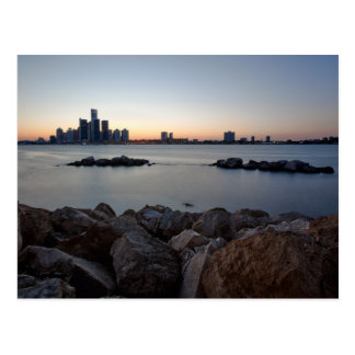 Detroit, Michigan Skyline Postcard