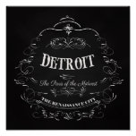 Detroit Michigan - The Paris of the Midwest Poster