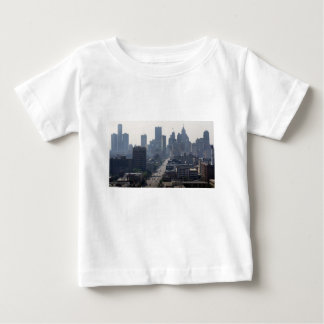 Detroit Michingan Skyline Baby T-Shirt