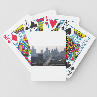 Detroit Michingan Skyline Bicycle Playing Cards