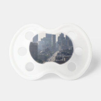Detroit Michingan Skyline Pacifier