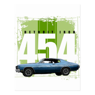 Detroit Muscle Chevelle Postcard