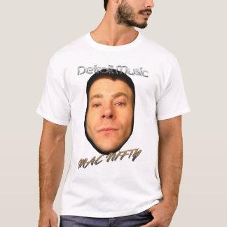 Detroit Music MAC NIFTY white shirt