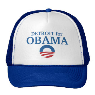 DETROIT pour la coutume d'Obama votre ville person Casquettes