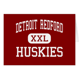 Detroit Redford - Huskies - High - Detroit Card