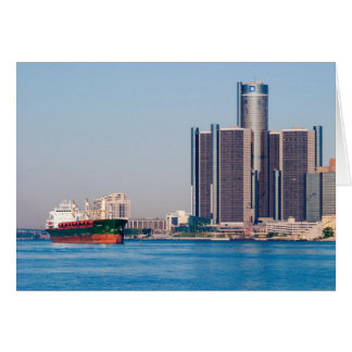 Detroit Renaissance Center Card