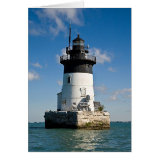 Detroit River Lighthouse Card